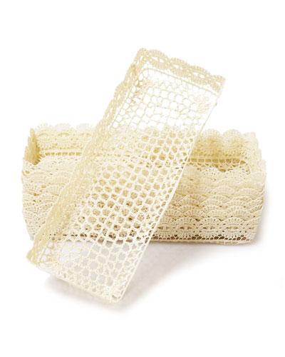 Crochet Rectangular Tray