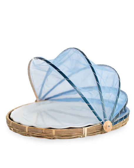 Picnic Tent with Melamine Platter, Extra Large