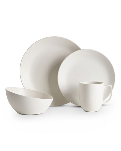 4-Piece Place Setting  Starry White