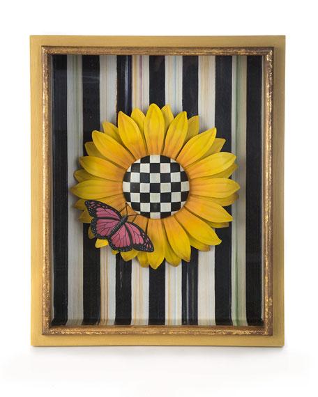 MacKenzie-Childs Sunflower Shadow Box