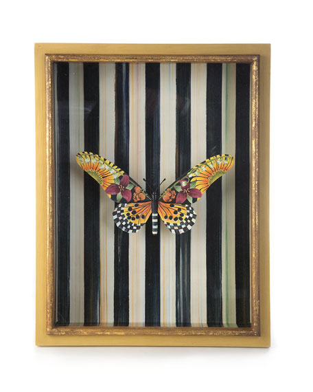 Monarch Butterfly Shadow Box