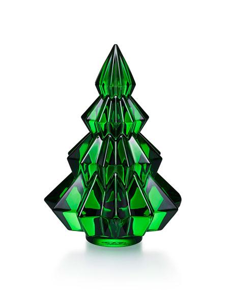 Aspen Christmas Tree Figurine, Green