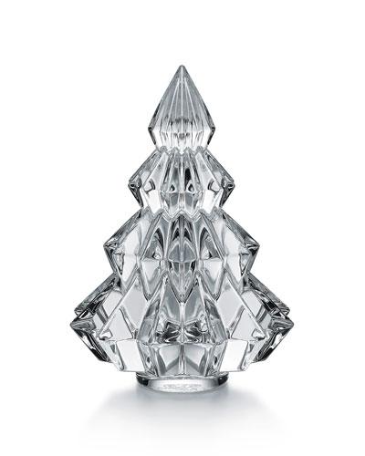 Aspen Christmas Tree Figurine  Clear