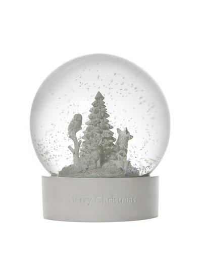 2019 Christmas Snow Globe