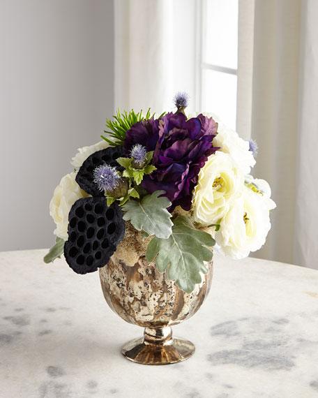 John-Richard Collection Silver Haze Floral Arrangement