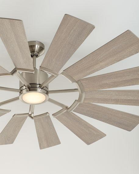 """62"""" Prairie Windmill Style Ceiling Fan"""