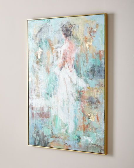 """""""Woman In Ivory"""" Giclee Canvas Art by Sasha"""