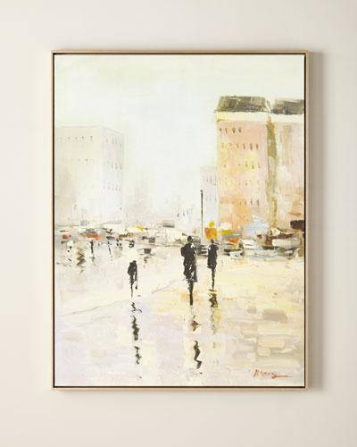 Metropolitan Giclee Canvas Art
