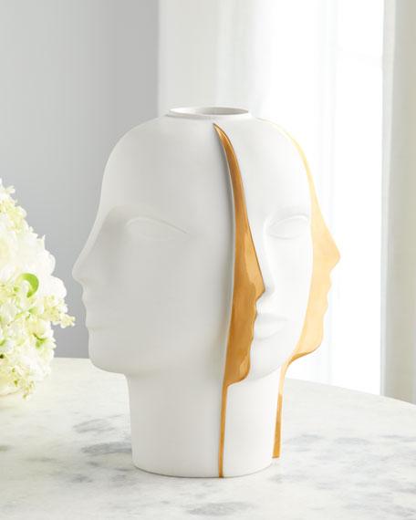 Jonathan Adler Atlas Split Vase
