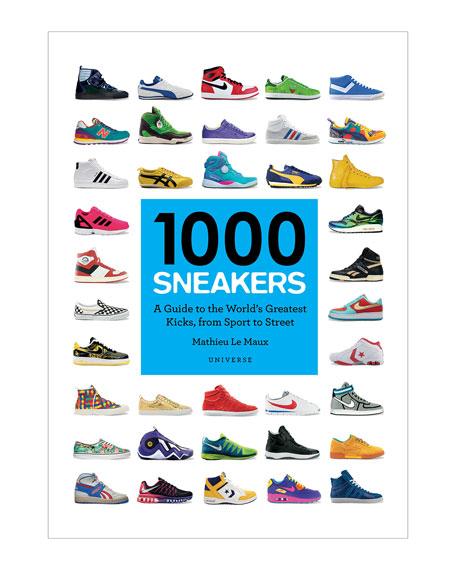 """""""1,000 Sneakers"""" Book"""