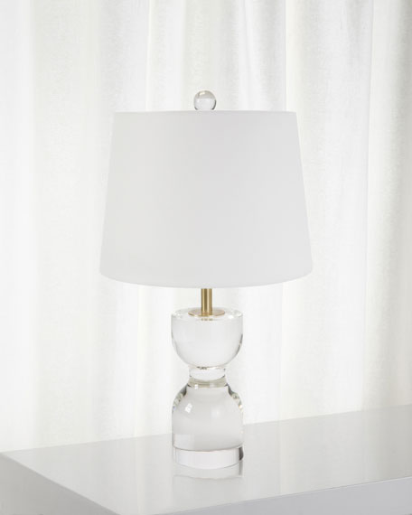 Joan Crystal Small Table Lamp
