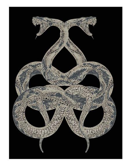 Snake Rug, 13.1' x 9.8'