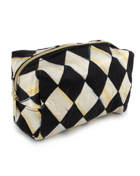 MacKenzie-Childs Harlequin Small Cosmetic Bag