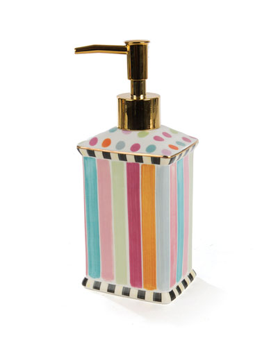 Ribbon & Dot Pump Dispenser