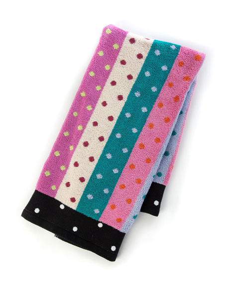 Ribbon & Dot Hand Towel