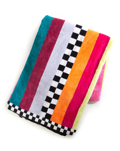Ribbon & Dot Beach Towel