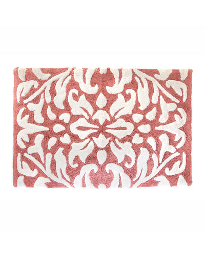 Canterbury Bath Rug  Blush