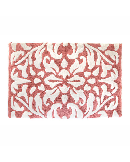 Canterbury Bath Rug, Blush