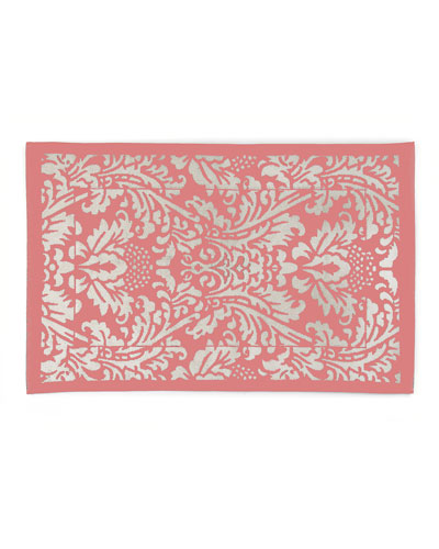Canterbury Bath Mat  Blush