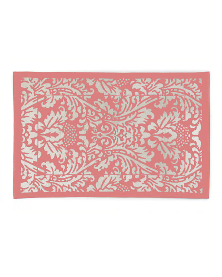 Canterbury Bath Mat, Blush