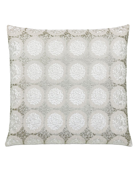 Dodie Embroidered Decorative Pillow