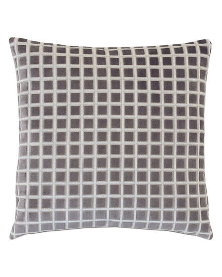 Stamp Stone Decorative Pillow
