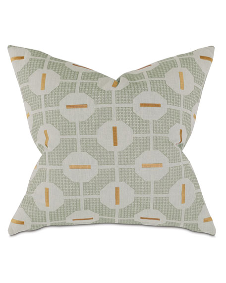 Octave Mustard Decorative Pillow