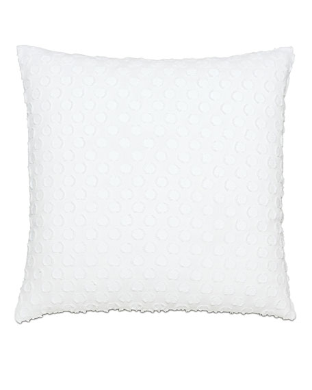 Lilla Polka-Dot Decorative Pillow
