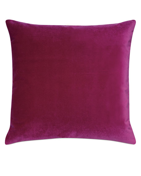 Plush Raspberry Decorative Pillow