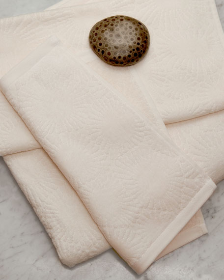 Affina Hexo 3-Piece Organic Bath Towel Set