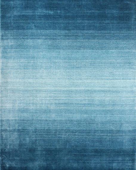 Lake Arthur Hand-Loomed Runner, 2.6' x 10'