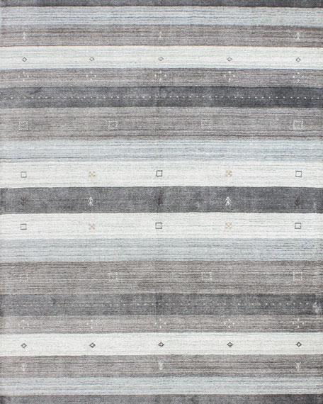 Pecos Hand-Loomed Rug, 6' x 9'