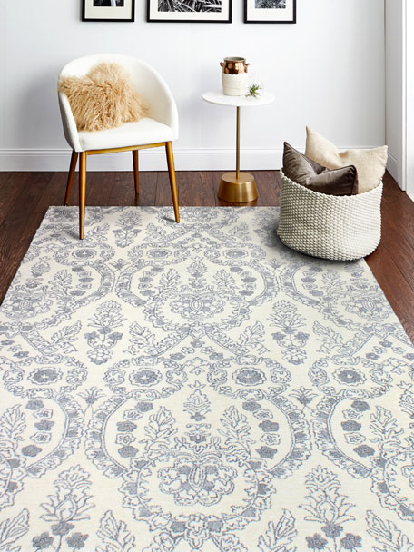 Lovington Hand-Tufted Rug, 6' x 9'
