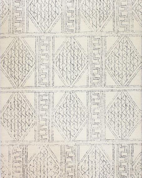 Logan Village Hand-Tufted Rug, 8' x 8'