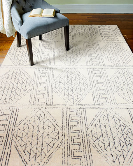 Logan Village Hand-Tufted Rug, 5' x 8'