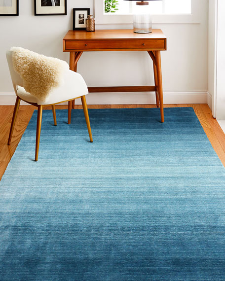 Lake Arthur Hand-Loomed Rug, 9' x 12'