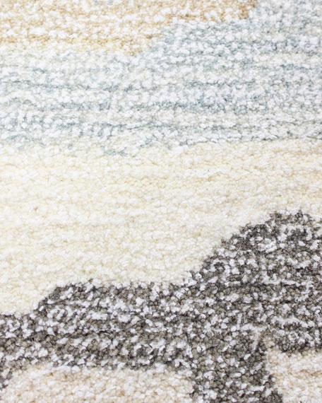 Thar Hand-Tufted Rug, 5' x 8'