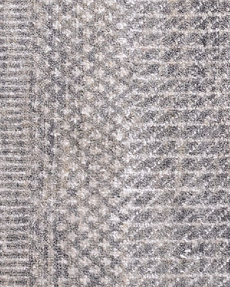 Exotic Gray/Silver Rug, 10' x 14'
