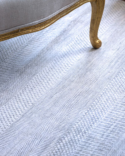 Exotic Gray/Silver Rug  10' x 14'