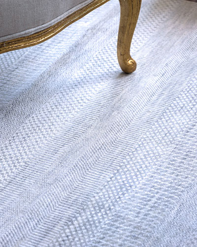 Exotic Gray/Silver Rug  8' x 10'