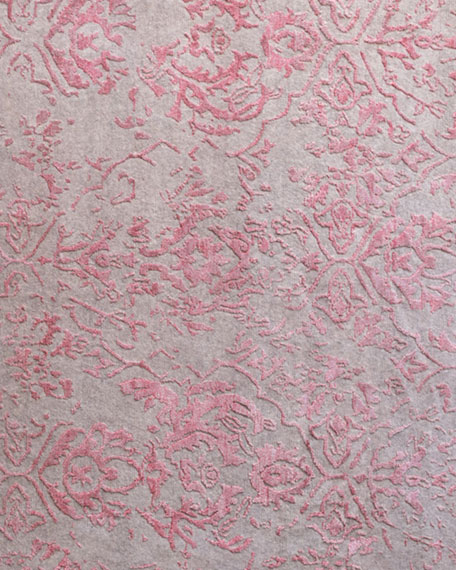 Jolie Gray Pink Rug, 10' x 14'