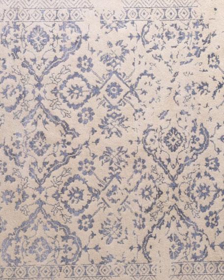 Lourdes Ivory/Silver Rug, 8' x 10'