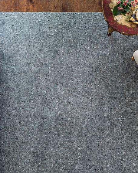 Aurora Graphite Rug, 10' x 14'