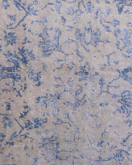 Jolie Gray Blue Rug, 9' x 12'