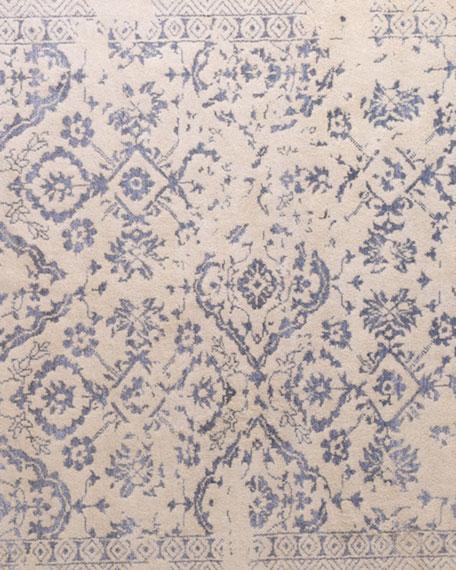 Lourdes Ivory/Silver Rug, 6' x 9'