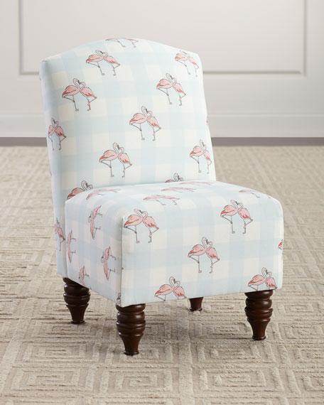 Cloth & Company x Gray Malin Flamingo Gingham