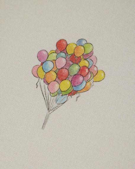 Balloon Bouquet Skirted Kid's Chair