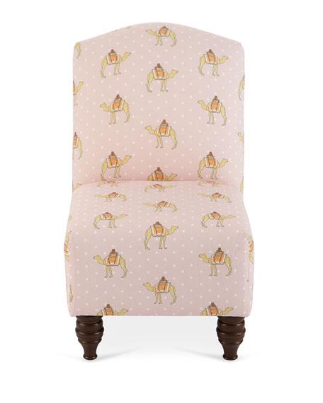 Camel Dot Camel Back Kid's Chair