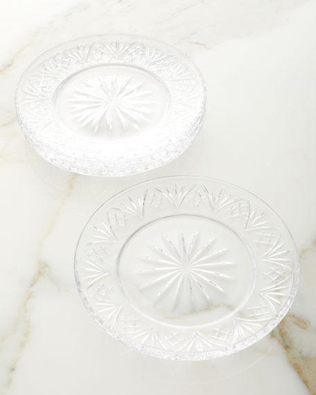 Godinger Appetizer Plates, Set of 4