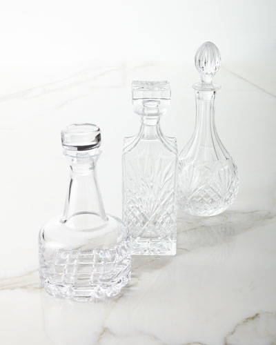 Decanters  Set of 3